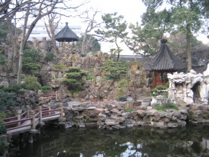 The main rockery in the Yu Yuan Gardens, Shanghai