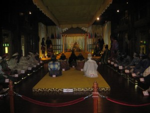 Diorama number 85 of a sultans court