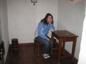 Solitary confinment at Port Arthur